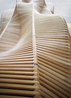 Long Wooden Bench-5