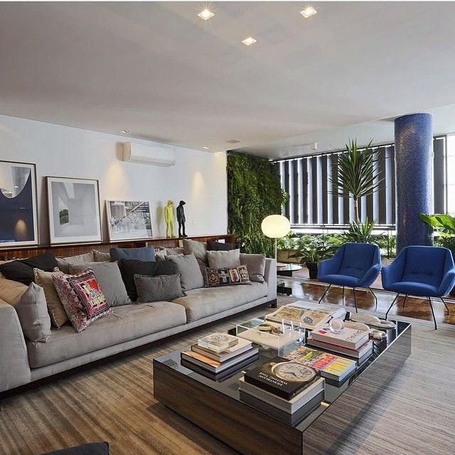 U201cBlue U0026 Gray Living Room #livingroom #livingdecor #living #bluedetails  #gorgeous Part 68