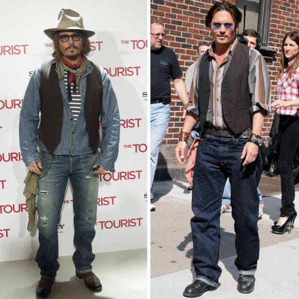 Boho style | Johnny Depp