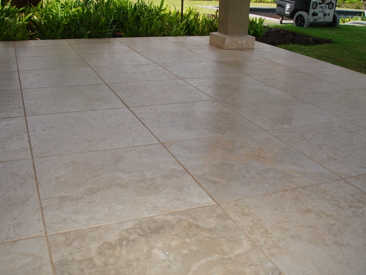 15 best Travertine patios images on Pinterest | Travertine ... on Travertine Patio Ideas id=95608