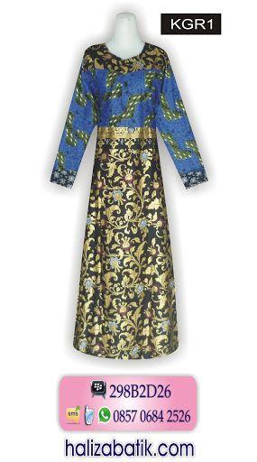 Model Batik Terbaru, Grosir Baju Murah, Desain Baju Batik Wanita, KGR1