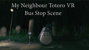 Download link for the interactive scene from My Neighbour Totoro done by Nick Pittom and Keith Sizemore at https://redofpaw.wordpress.com/vr-projects/