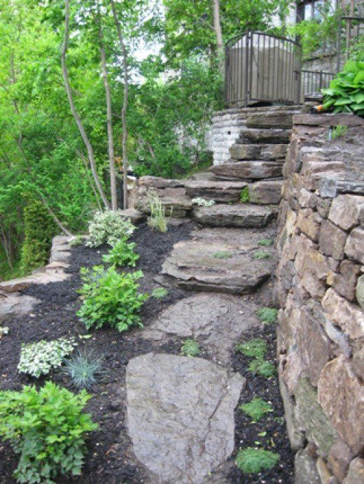 How To Build A Dry Stack Stone Retaining Wall The Right