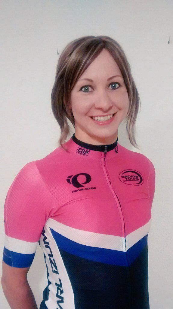 """""""New year, new team! Looking forward to my first race as a @pearlizumi @sportstoursint rider at @RevolutionUK today :)"""""""