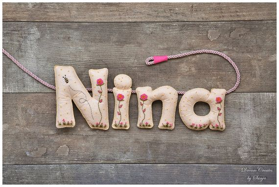 Hey, I found this really awesome Etsy listing at https://www.etsy.com/au/listing/244757712/personalized-name-banner-felt-nursery