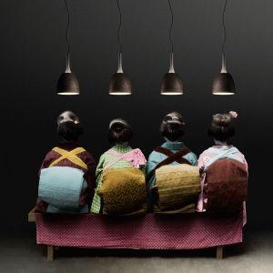 Kitchen Pendant Light x 2