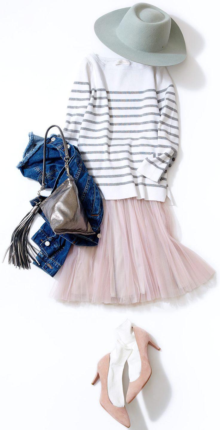 今週のレッスン:春ピンクの活用コーデ(ルミネ大宮) | LUMINE MAGAZINE
