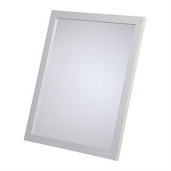 Briscoes - White Wash Wall Mirror 550mmx450mm