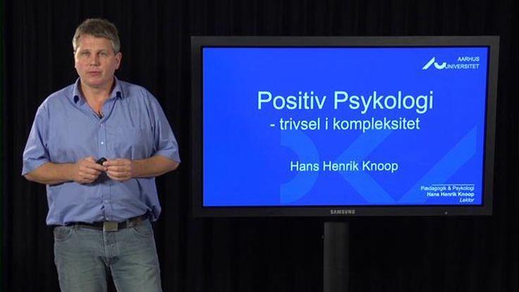 I dette foredrag præsenterer Hans Henrik Knoop det nye forskningsområde Positiv Psykologi, som på få år er blevet en meget indflydelsesrig gren af psykologien. Det…