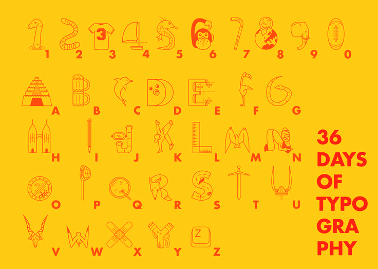 36 Days of Typography 0