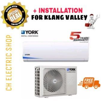 Shop Now YORK AIR CONDITIONER 1 HP (R410) - YWM3F10CAS / YSL3F10AAS FREE DELIVERY & INSTALLATIONOrder in good conditions YORK AIR CONDITIONER 1 HP (R410) - YWM3F10CAS / YSL3F10AAS FREE DELIVERY & INSTALLATION You save YO879HAAB0XKVRANMY-79765936 Home Appliances Cooling & Heating Air Conditioning York YORK AIR CONDITIONER 1 HP (R410) - YWM3F10CAS / YSL3F10AAS FREE DELIVERY & INSTALLATION #CoolHomeAppliances