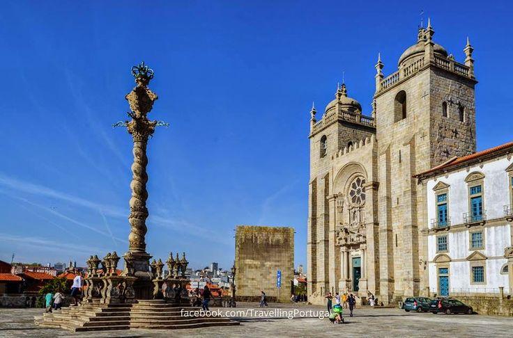 Catedral de Oporto 6 Seis de los lugares más visitados de Oporto   Turismo en Portugal