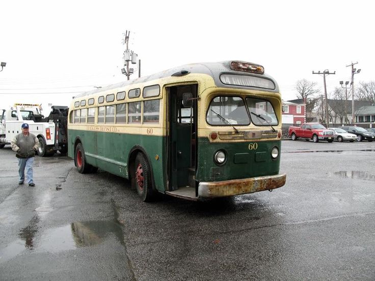 1948 old style nj bus clifton old pictures