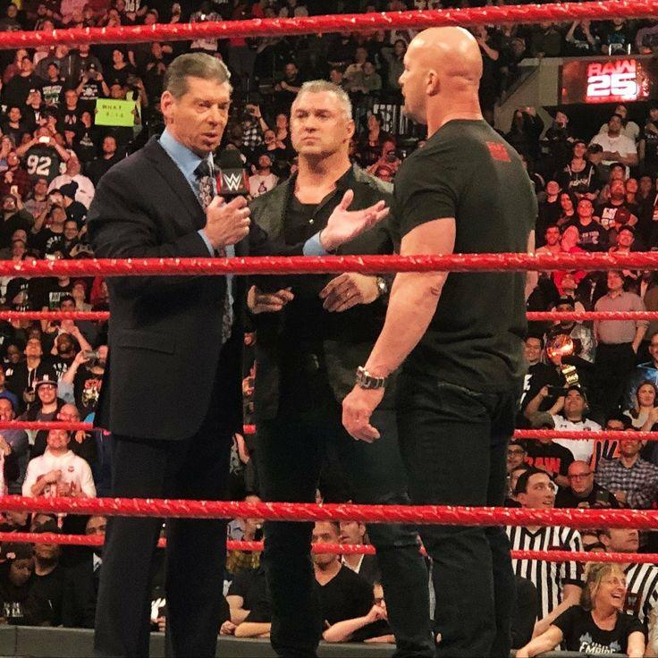 Stone Cold Steve Austin, Vince McMahon, Shane McMahon 1/22/18