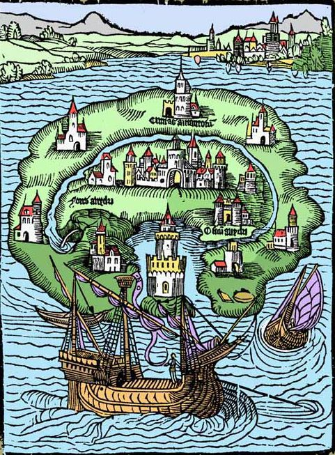 Legendary Lands: Umberto Eco on the Greatest Maps of Imaginary Places and Why They Appeal to Us   Brain Pickings