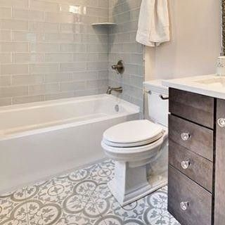 Incorporate This Exceptional Tile Design Into Your Bathroom Space That Is Sure To Be The Crowning