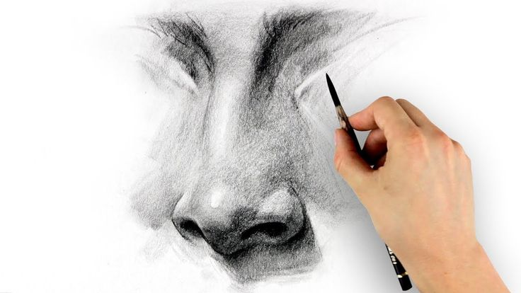 How To Draw A Nose | www.drawing-made-easy.com | #drawing #nose