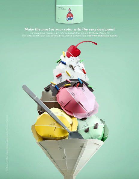 Paint Chip Advertisements }-> repinned by www.BlickeDeeler.de