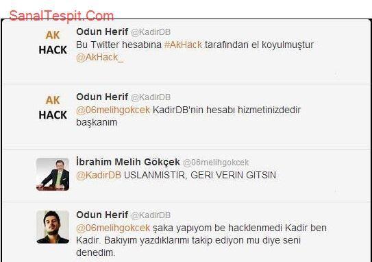 http://www.sanaltespit.com/Tespit/405/Melih_Gokcek_i_Denemece.html Melih Gökçek 'in baş belası Odun Herif, Melih Gökçek'i deniyor.
