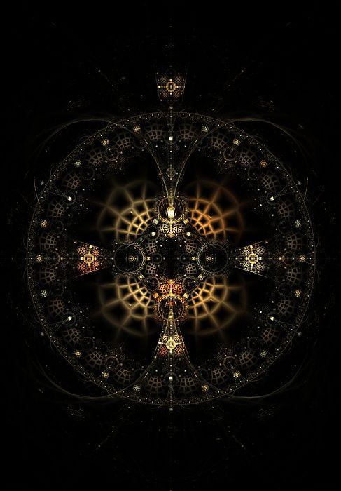 Fractal Photograph - The Order Of The Legion Of Space by Elena Ivanova IvEA    #ElenaIvanovaIvEAFineArtDesign #Print #Decor #Interior #Fractal #Abstraction