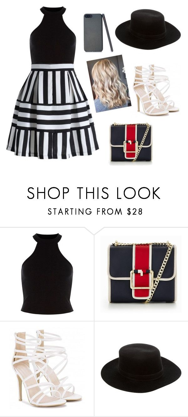 """""""Untitled #705"""" by coutobeatriz ❤ liked on Polyvore featuring Tommy Hilfiger and Janessa Leone"""