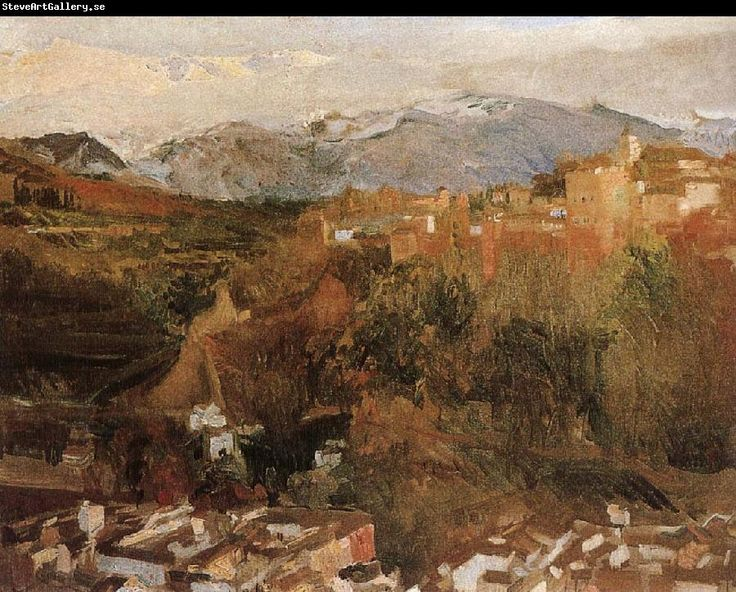 Joaquin Sorolla Mountains