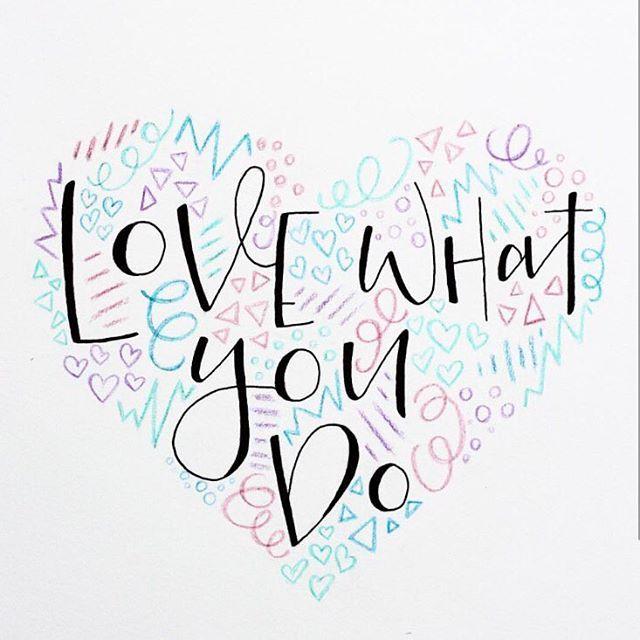 L O V E what you do. Do what you L O V E 💕 #teacherinspiration .  📷 @elinicm    #Regram via @misstessclassroom