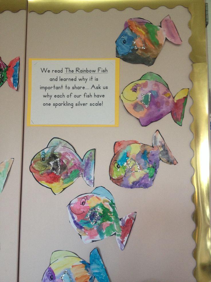 94 rainbow fish printables august preschool themes for 94 1 the fish