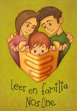 Los elementos de esta imagen son fuertemente cautivadores, la union de la familia, esta representada aqui y sirve como un referente la ilustración para poder demostrar la importancia de la lectura en familia y la estimulación temprana en niños en edad escolar.