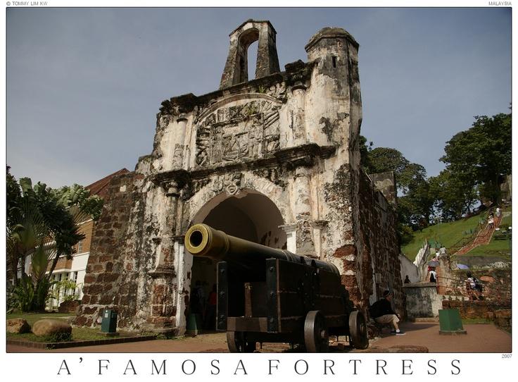 A'Famosa fortress - Melaka