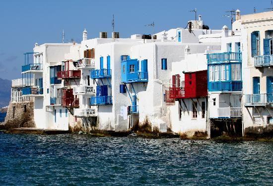 Best Place Ever, Little Venice, Mykonos Island, Greece