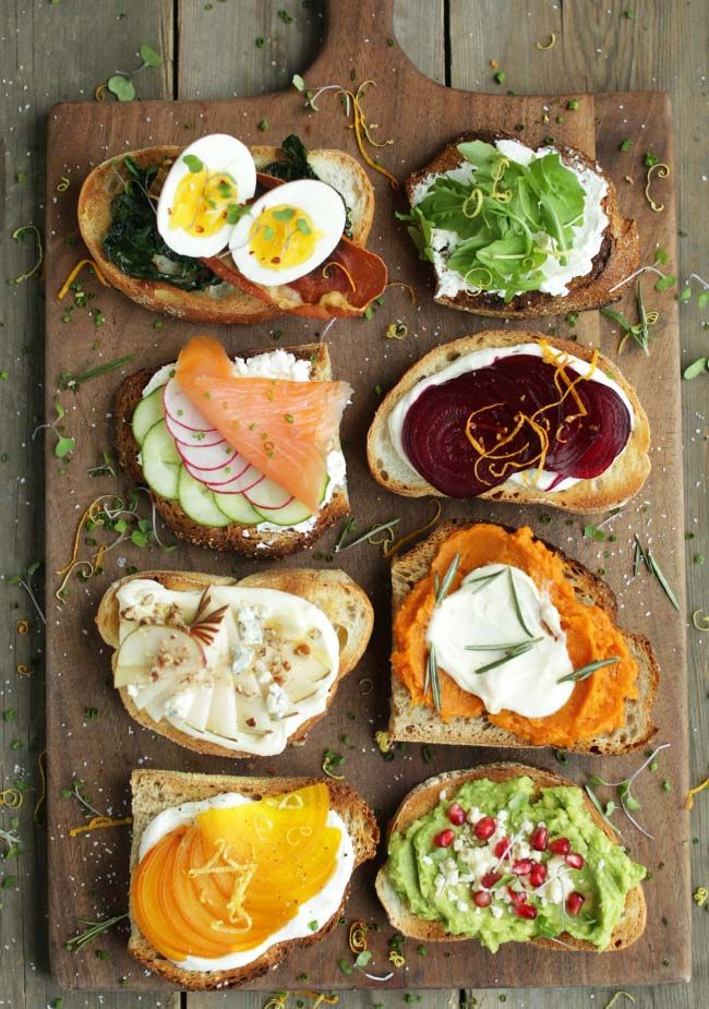 Breakfast/Appetizers Done Right!!  Avocado Toast Recipe and Different Gourmet Toast Recipes!