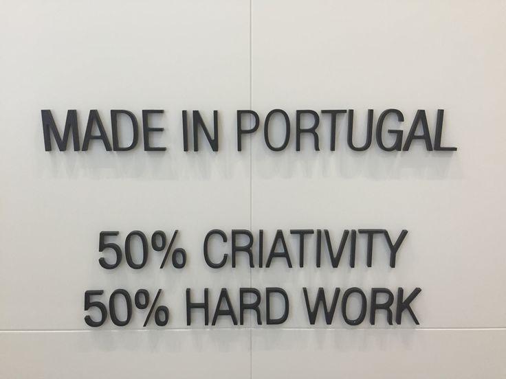 50% Criativity 50% Hard Work