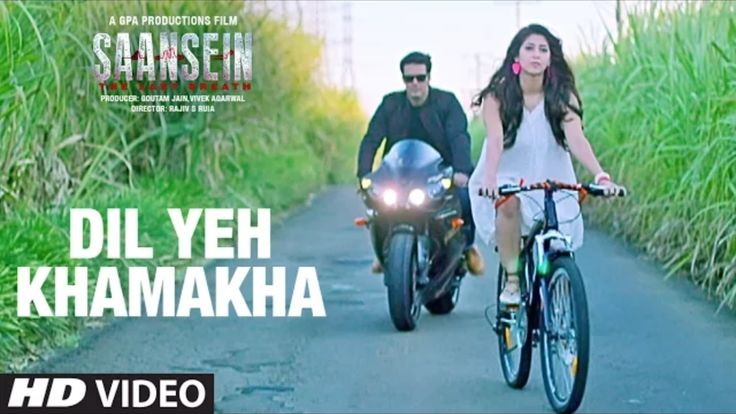 Dil Ye Khamakha new song video from Saansein movie