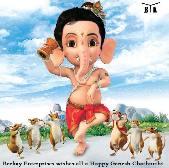 #BeekayEnterprises wishes all a #HappyGaneshChaturthi