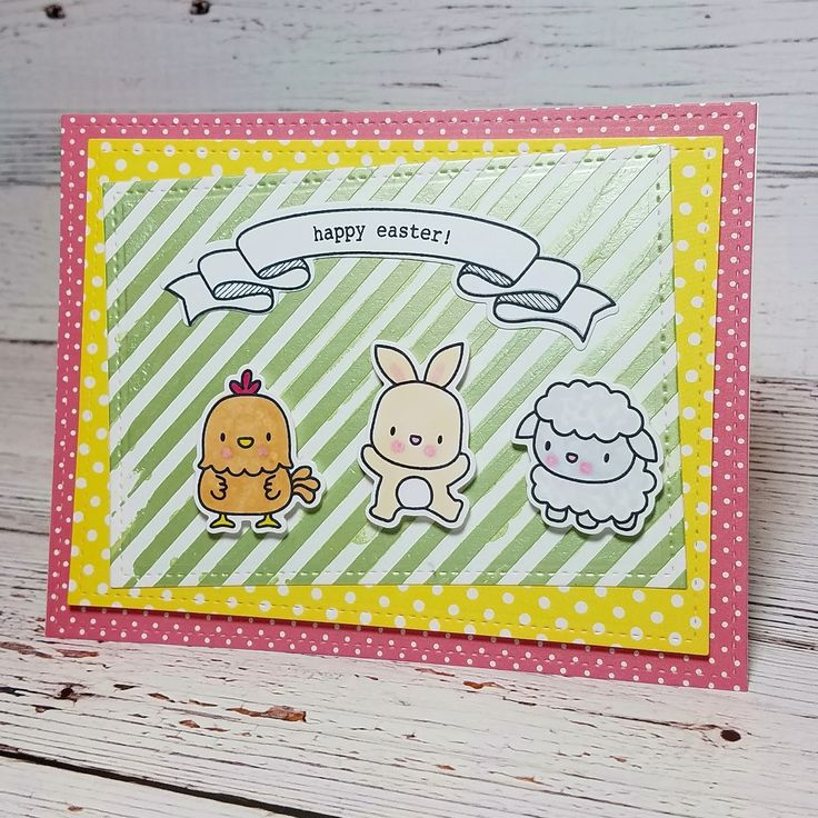 Corilyn's Creations: Easter animals #lawnfawn #mamaelephant #simonsaysstamp #ssswchallenge