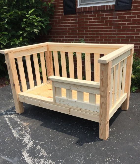 toddler bed wooden toddler bed safety rail solid pine