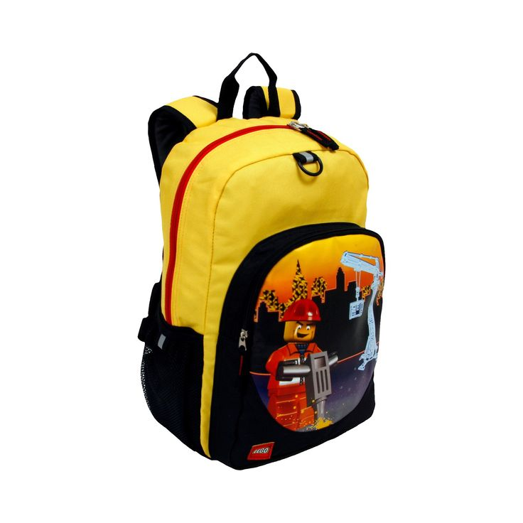 Lego City Construction City Nights Heritage Classic Backpack, Blue