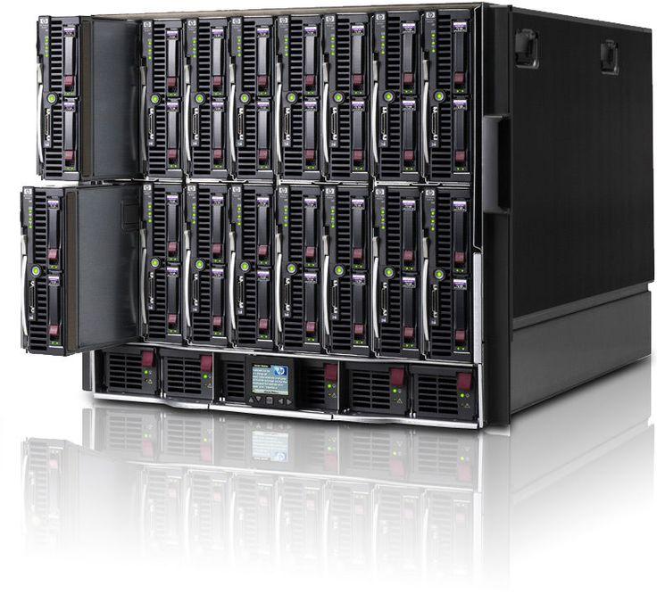 HP C7000 G2 Chassis - 8x BL685 G6 Blade - 128 Cores, 1024GB RAM, 4.8TB, Flex-10