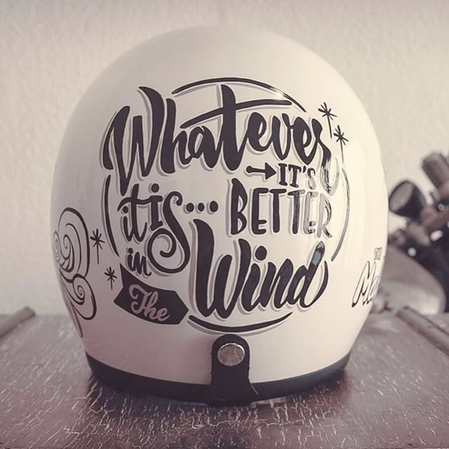 By Brusco Artworks #design #motorcycles #helmet | caferacerpasion.com