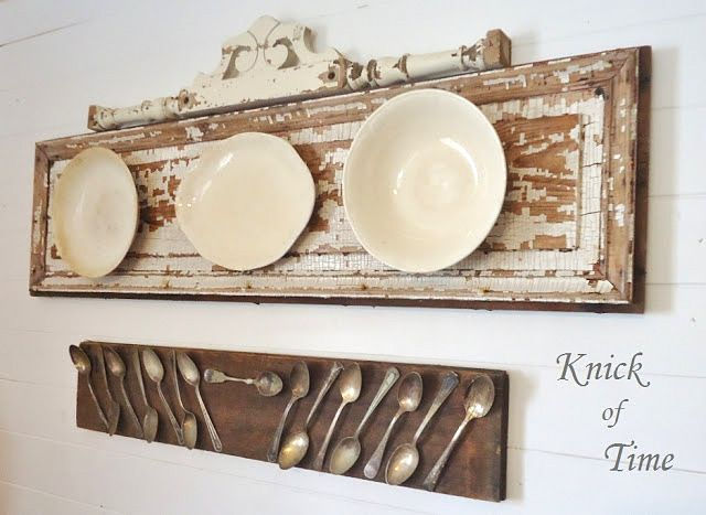 antique junk decor   SNS 177 - decorating with PLATES   Funky Junk InteriorsFunky Junk ...