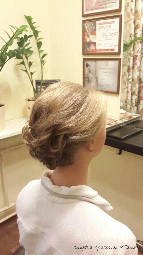 Прическа   Студия красоты Талия, салон красоты, парикмахерская