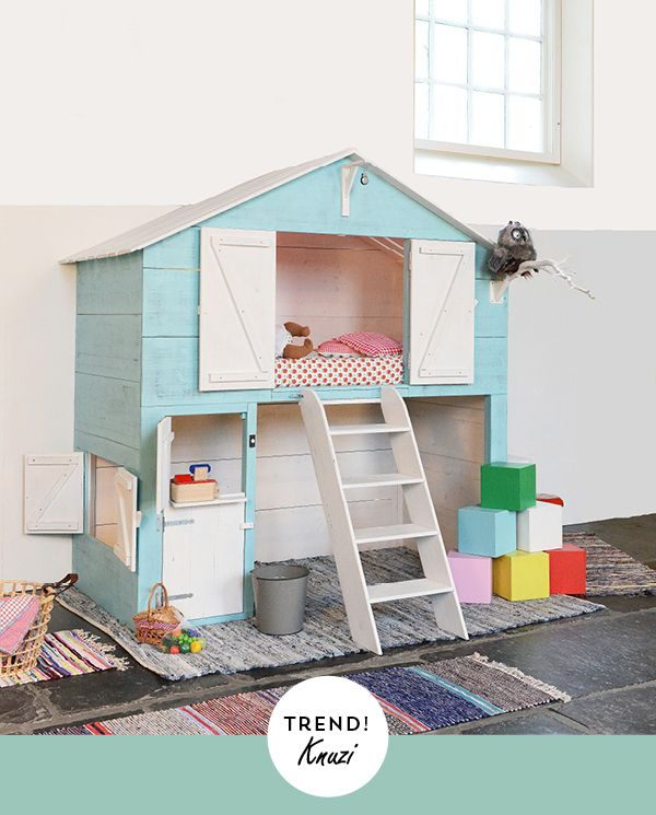 bedstee voor kinderen kinderkamer//kids room. Mmm, what they said