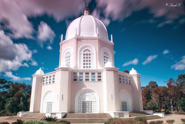 See the world through my eyes..: Bahai Temple in Australia