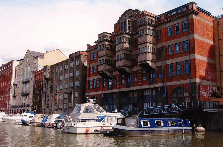 """Bristol Harbour. Welsh Back Warehouse 