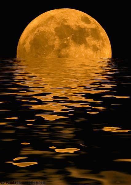 Super Moon Un petit bain de lune !