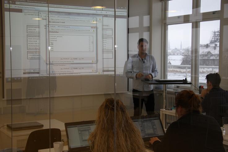 Enalyzer, HQ, Copenhagen. Education.  User training - Enalyzer Survey Solution  www.enalyzer.com