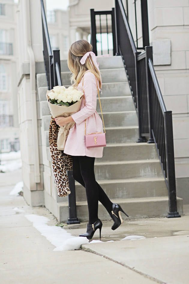 25 Beautiful Pink Outfits for Fall and Winter - Be Modish - Be Modish
