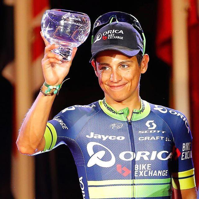 Esteban Chavez Vuelta a Espana 2016 by photogomezsport