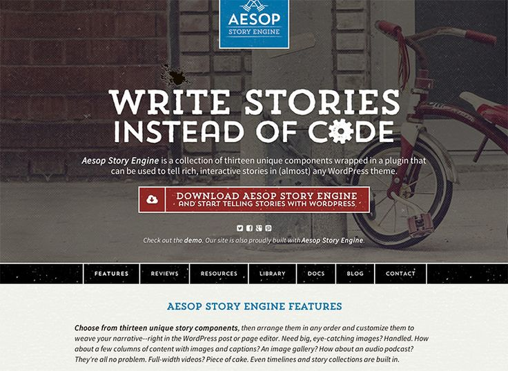 Aesop Story Engine - open-source - Write stories instead  of code